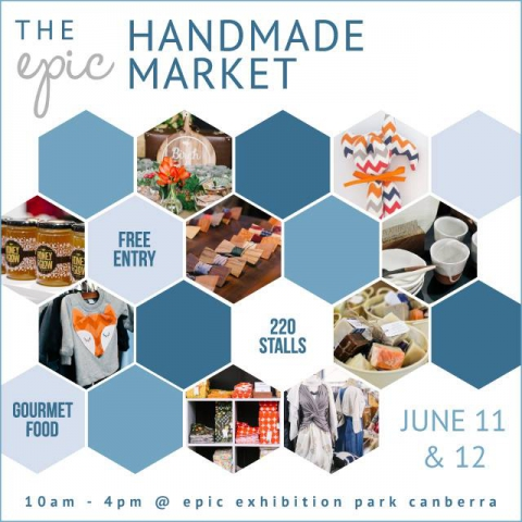 The epic Handmade Market - June 11 & 12