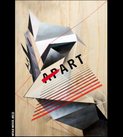 Art, Not Apart poster by Natalie Mather
