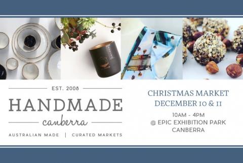 Handmade Canberra Christmas Market December 10 & 11