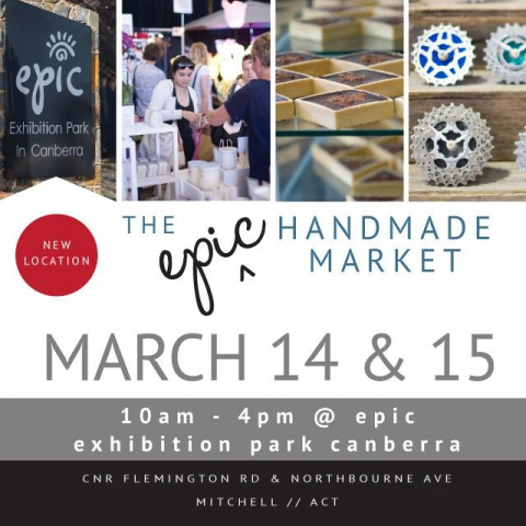 The epic Handmade Market March 14 & 15