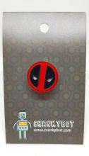 Deadpool inspired badge