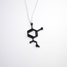 Black adrenalin necklace
