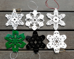 Star wars inspired snowflakes
